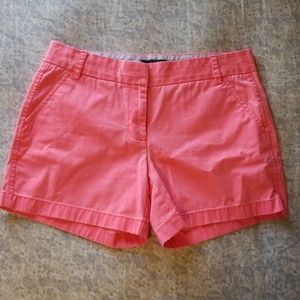 5 for $25 Size 8 Pink J. Crew Shorts